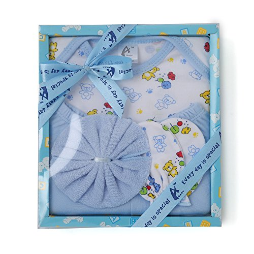 Advance Baby Stuff Jam Gift Set (Blue, 4 Pieces)
