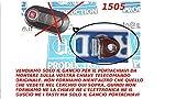 G.M. Production - 1505 Solo Gancio Portachiavi Per Chiave Telecomando FIAT LANCIA CITROEN PEUGEOT OPEL [controllare foto e dettagli compatibilità]