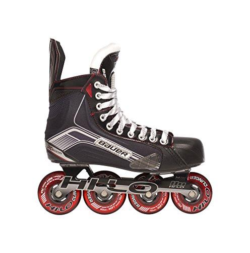 Bauer Junior Vapor X500R Roller Hockey Skate, 1047265, Schwarz, Größe 5 -