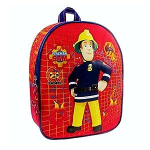 Sam El Bombero - Fireman Sam - Niños Mochila To the Rescue1 gran compartimento principal con cierrecorreas de hombro ajustablesFrente con gran motivo Fireman SamMaterial: PoliésterTamaño: Altura 31.0 x Ancho 24.0x Profundidad 9.0 cm