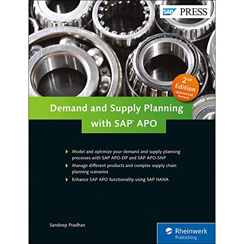 Demand and Supply Planning with SAP APO (SAP PRESS: englisch) - Business Software Inventory