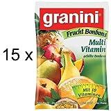 Granini Fruchtbonbon Multivitamin (15x 150g Beutel)