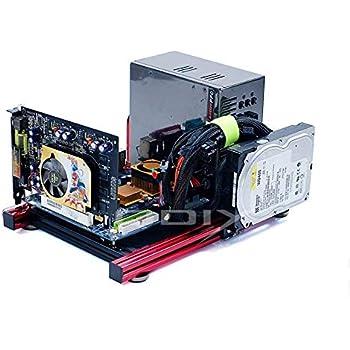 Electric Magic Itx Computer Open Grafikkarte Aluminium