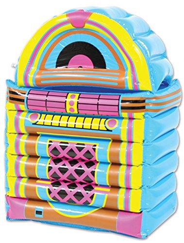 "Beistle 577651er Pack Jukebox Mittelpunkt, plastik, mehrfarbig, 20"" x 30.5"""