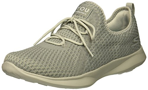 Skechers Serene-Tranquility, Baskets Enfiler Femme, Gris (Grey Gry), 41 0a500144df