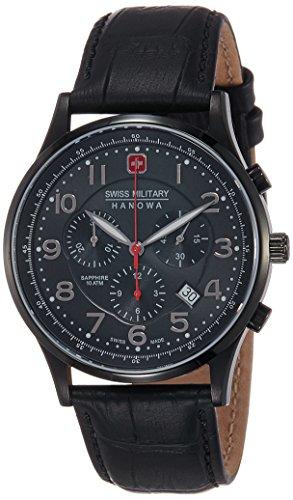 51P%2BrBr5uNL - Swiss Military SM14227JSBBK.H02S Chronograph Mens watch