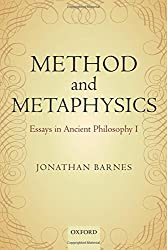 Method and Metaphysics: Essays in Ancient Philosophy I