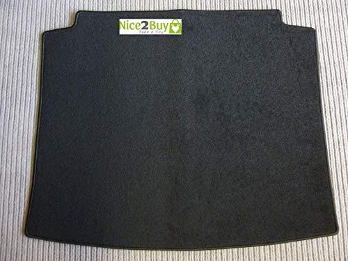 Laderaumteppich Kofferraumteppich Kofferraumschutz Kofferraummatte schwarz passend für das angegebene Modell