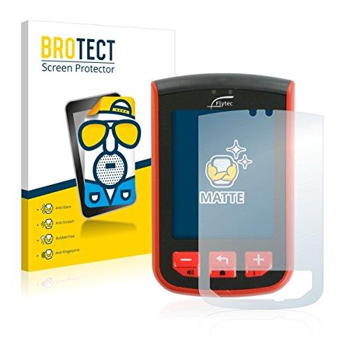 2X BROTECT Matt Displayschutz Schutzfolie für Flytec Connect 1 (matt - entspiegelt, Kratzfest, schmutzabweisend)