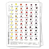 Daniel Smith Watercolor 238 Dot Color Chart by Daniel Smith