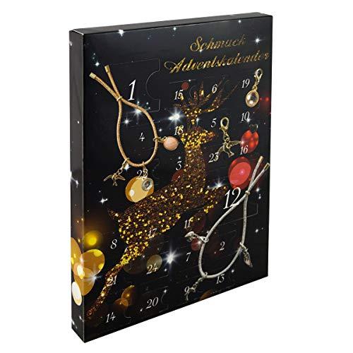 Schmuck Adventskalender Armbänder mit Charms