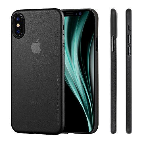 memumi Funda Compatible con iPhone X, Funda iPhone 10, Ultra Slim Anti-Rasguño y Resistente Huellas Dactilares Totalmente Protectora Caso de Plástico Duro Cover Case [Slim Series]