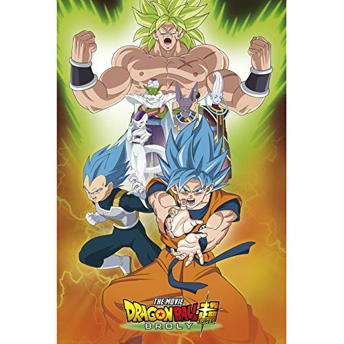 ABYstyle - Dragon Ball Super Broly - Póster - Grupo