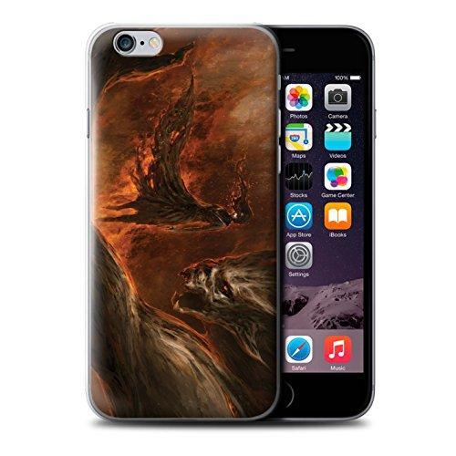 Offiziell Chris Cold Hülle / Case für Apple iPhone 6 / Pack 10pcs Muster / Dunkle Kunst Dämon Kollektion Der Anrufer