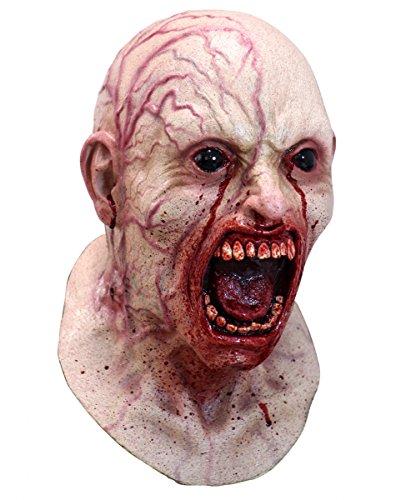 Party Stadt Kostüme Suche (Blutige Horror Zombie Maske)