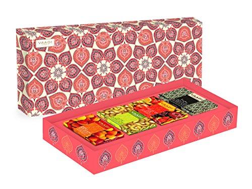 Apfel-minze-kraut (Classic Fruit Collection - 4 Premium Kräuter Handgemachte Seife Geschenkbox (Aromatherapie) mit 100% reinen ätherischen Ölen - All Natural - Paraban Kostenlos - Unisex - Gut für alle Hauttypen)