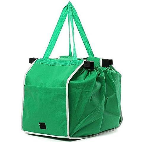 Da.Wa Sacs à bandoulière Porte-bagages réutilisables Supermarché Commerçants Eco-Friendly, Easy