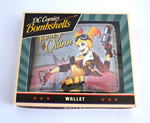 DC Bombshells Harley Quinn Boxed Portafoglio