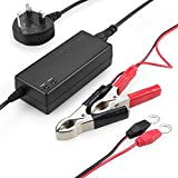 RAVPower Trickle Charger 12V /1.5A Sealed Lead Acid (SLA) Battery Charger Maintainer