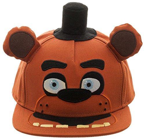 Five Nights at Freddy's: Freddy Fazbear Big Face Plush Snapback Berretto da Baseball