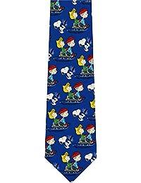 538ec8a6932 Peanuts Woodstock Snoopy Christmas Cartoon New Mens Novelty Necktie