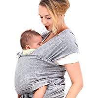 Cozy Baby Wrap for Newborns, Infants & Toddlers | High Quality Baby Carrier | 3 Carrying Positions | Soft Cotton and Comfort Spandex Machine Washable | 100% Infinity Guarantee | with Instructional DVD