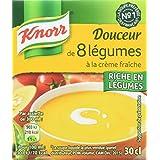 Knorr Soupe Douceur de 8 Légumes à la Crème Fraîche 12 x 30 cl