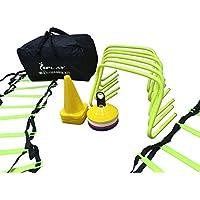 Splay Kit de entrenamiento unisex con bolsa, talla única, color amarillo
