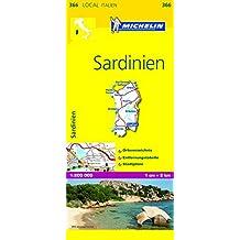 Michelin Sardinien: Straßen- und Tourismuskarte 1:200.000 (MICHELIN Localkarten)