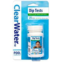 Clearwater Dip Test Strips for Swimming Pool and Spa Treatment