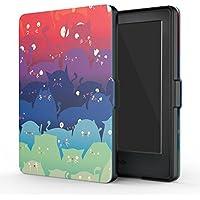 MoKo Funda para Kindle 8th Generación - Funda de SmartShell Más Delgada y Ligera con Auto Sueño/Estela - Totoro (No es Compatible con el kinlde Paperwhite)