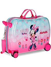 Disney Minnie Heart Valigia per bambini 50 centimeters 39 Rosa