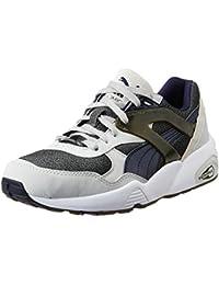 Puma Men's R698 Modern Heritage Glacier Grey, Glacier Grey And Peac Sneakers - 6.5 UK/India (40 EU)