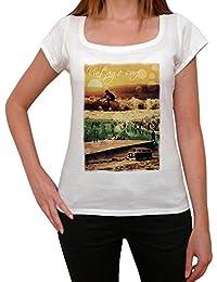 Vintage surf beach T-shirt Femme,Blanc, t shirt femme,cadeau