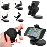 Guilty Gadgets–360girante Compact Car Holder per Blackberry 8220Pearl, 8520curve, 8900, 9105, 9300, 9100, 3G
