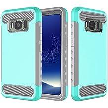 Danallc Samsung Galaxy S8 Active Case, Cover Protective Shell Case [Protective] Cover Cover fits Samsung Galaxy S8 Active - Mint Green