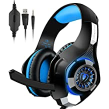 PS4 Gaming Headset,Over-Ear Headphones With Mic For Playstation 4,Xbox One,PC,Laptop,Tablet, Mobile Phones
