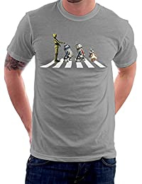 Star Wars Beatles Abbey Road Droids Mark II Men's T-Shirt