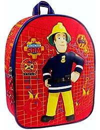 Sam Le Pompier - Fireman Sam - Enfants Sac à Dos 24 x 31 x 9 cm