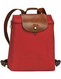 Longchamp - Bolso mochila para mujer arcilla