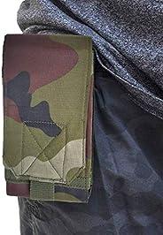 PRINTELLIGENT Army Rugged Waist Belt Pouch for Smartphone