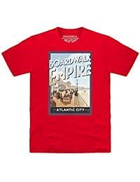 Official Boardwalk Empire Postcard T-shirt, Pour homme
