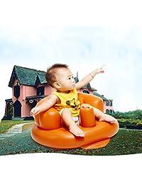 Reixus (TM) Petit Canap¨¦ gonflable portable Chaise b¨¦b¨¦ En savoir Si¨¨ge gonflable b¨¦b¨¦ Chaise Seat Kid