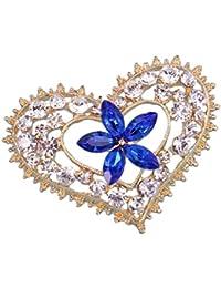 593b7a356b1b iTemer 1 Pieza Broches de bisuteria para Zapatos Pins para Chaquetas y  chapas Un Hermoso Regalo Forma de corazón.