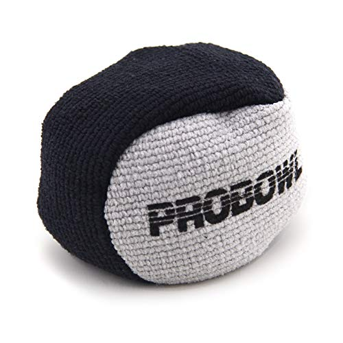 Pro Bowl Bowling Microfaser Grip Ball (schwarz/grau)