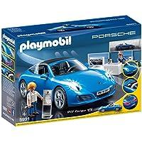 Playmobil Porche Porsche Réplica del Porche 911 Targa 4S Playset,, Miscelanea (5991)