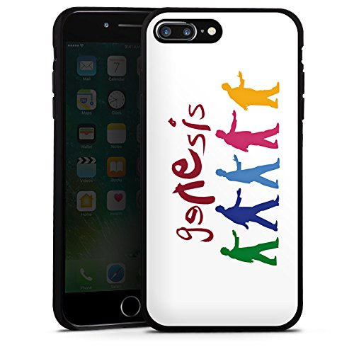 Apple iPhone 5s Hülle Silikon Case Schutz Cover Genesis Phil Collins Rock Silikon Case schwarz