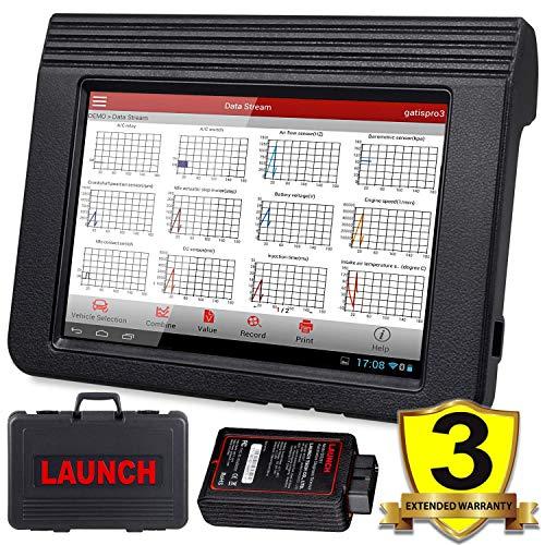 LAUNCH X431 V (X431 Pro) Bi-Directional OBD2 Diagnostic Scanner, Key Fob  Programming, ECU Coding, ABS Bleeding Brake, Reset Functions Including Oil