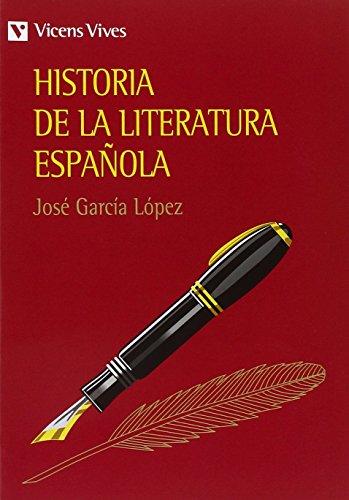 Historia de La Literatura Espanola por J. L. Lopez Garcia