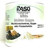 RASO Naturprodukte - Fastenbrühe Milde Molkensuppe ohne Fett (1x 300g Dose) - ohne Hefeextrakt, ohne Geschmacksverstärker